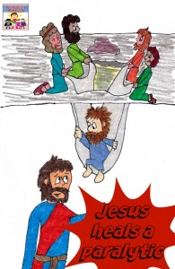 Jesus heals a paralytic lesson and craft