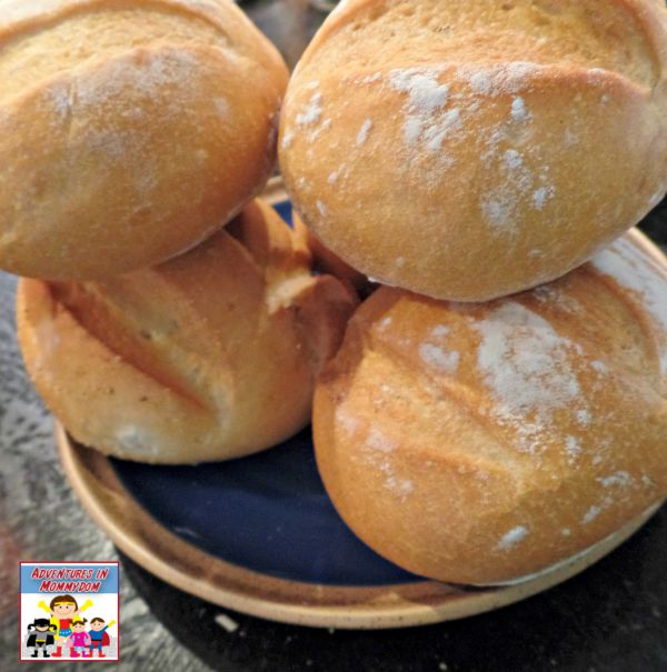 Johnny Tremain snacks bread