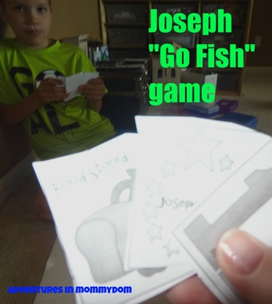 Joseph Go Fish Game