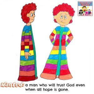 Joseph in jail Genesis Old Testament Sunday School kid min