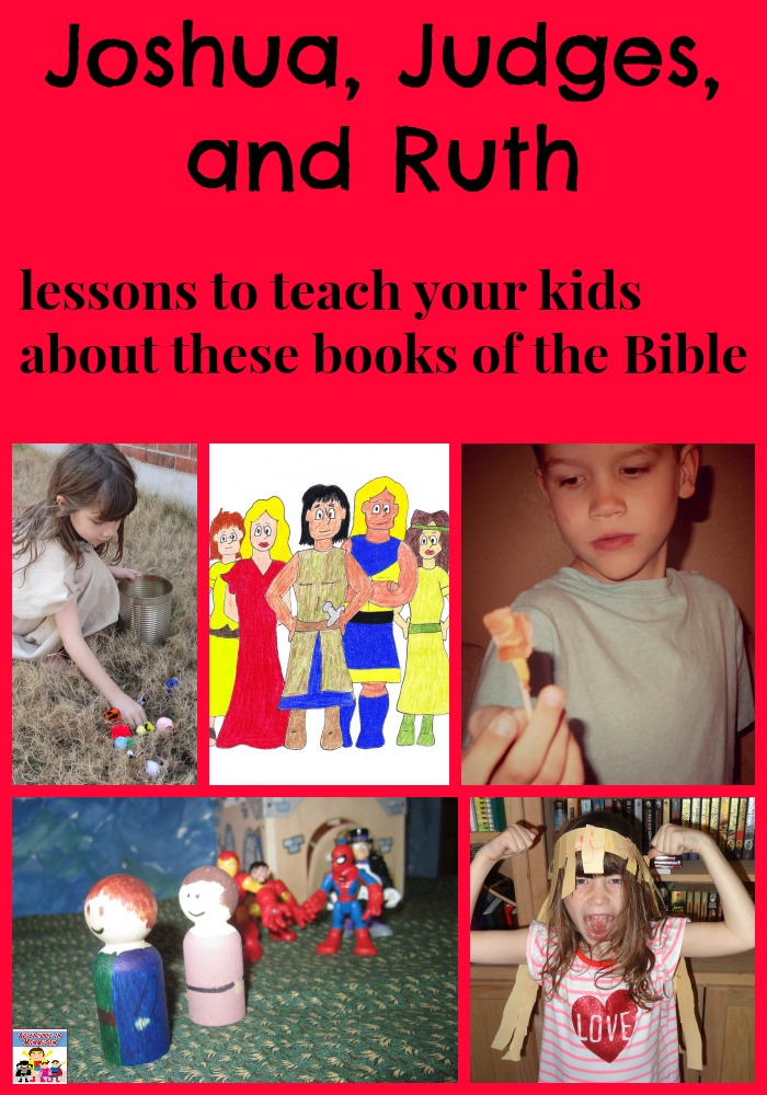 Joshua, Judges, and Ruth lessons