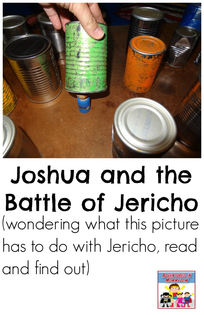 Joshua and the Battle of Jericho activities for elementary and preschool