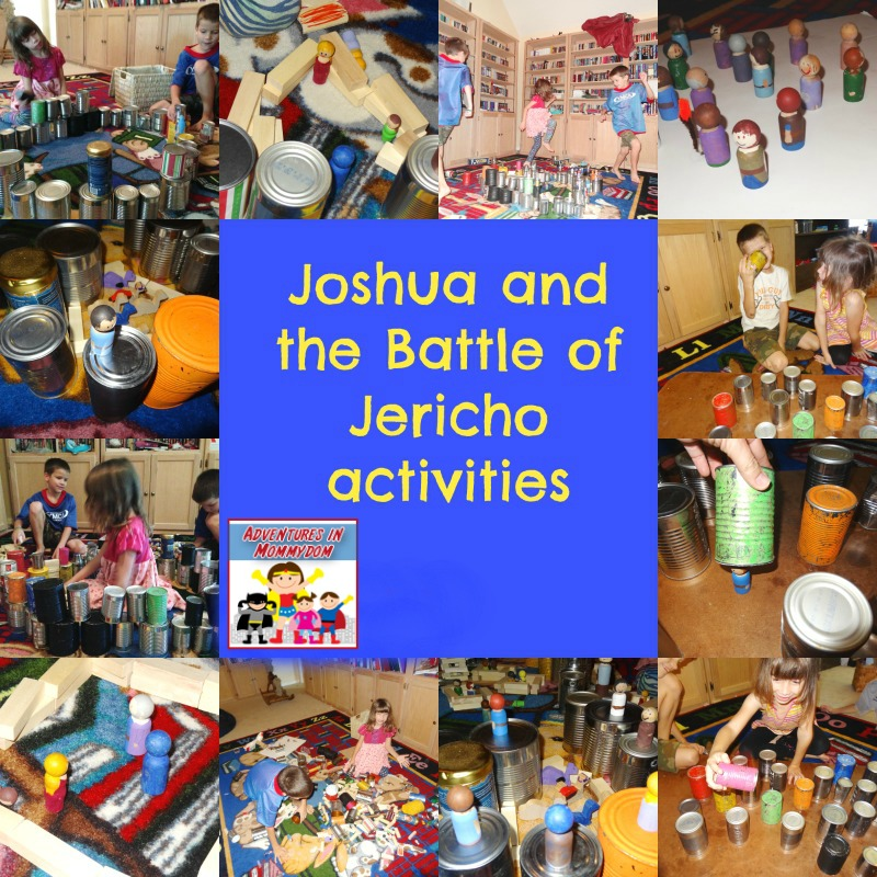 Joshua and the Battle of Jericho activities