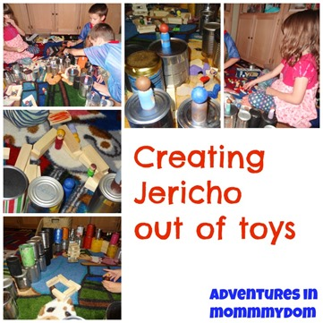 Joshua and the Battle of Jericho small world