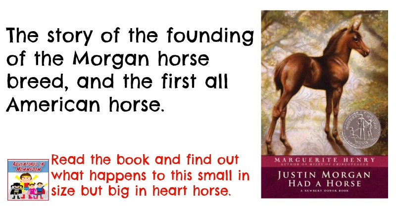 Justin Morgan Had a Horse book review