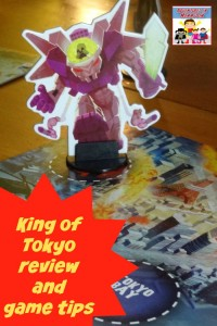 King of Tokyo review and game play