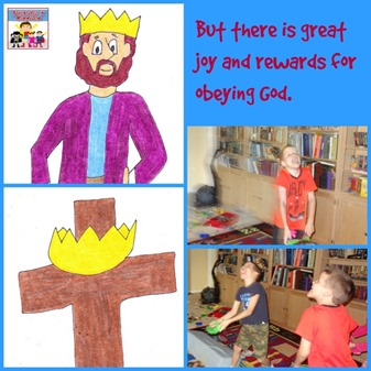 King David lesson application