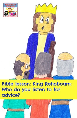 King Rehoboam Bible lesson