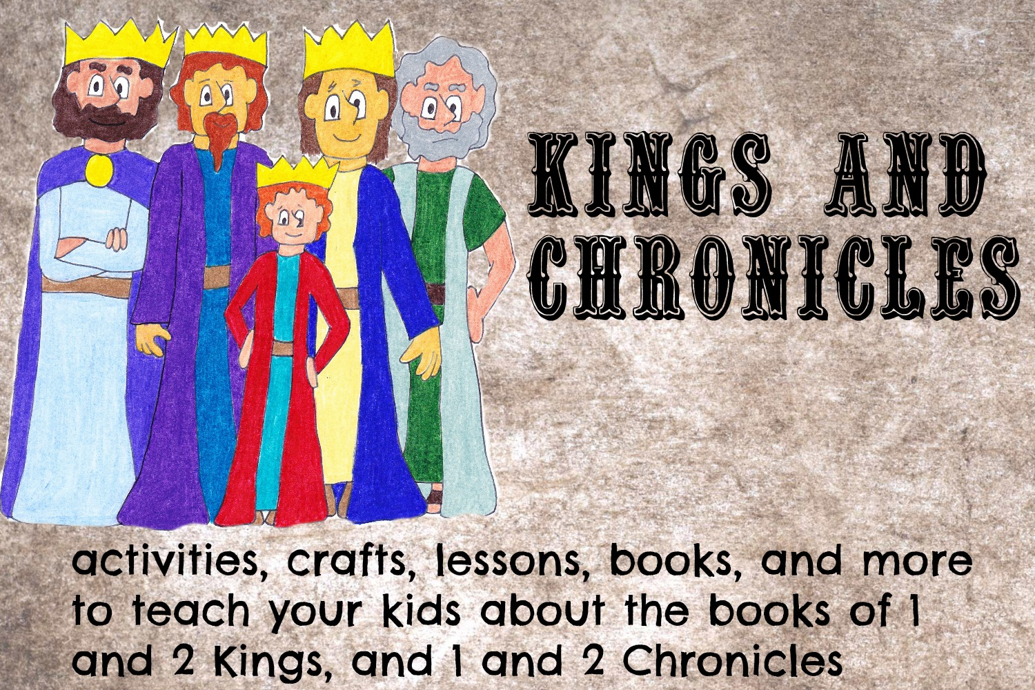 Kings and Chronicles Bible pinterest board