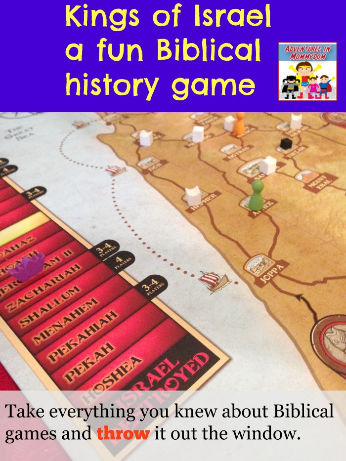 Kings of Israel Biblical game