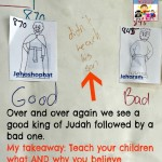 Kings of Judah as a parenting lesson