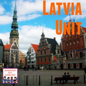 Latvia unit geography 10th Europe