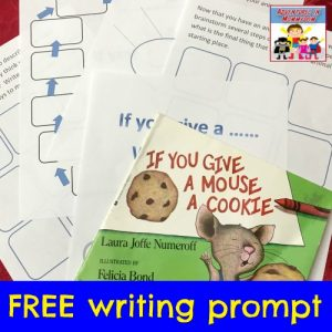 Writing inspired by Laura Numeroff