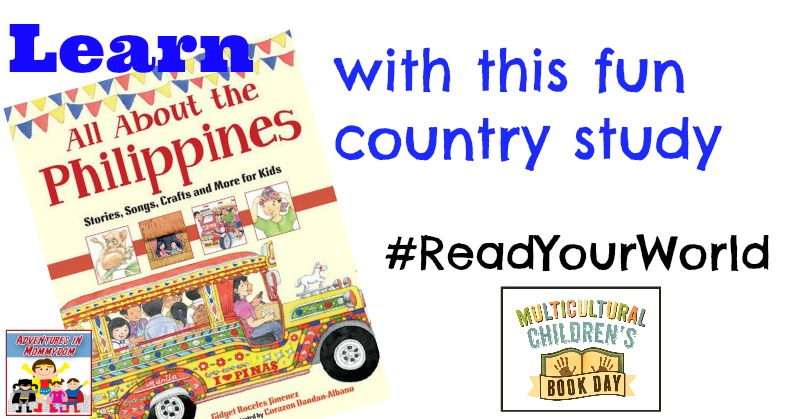 Learn about the Philippines with this fun country study #ReadYourWorld