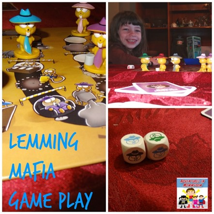 Lemming Mafia game play