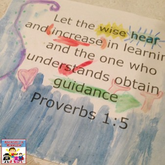 Let the wise hear and increase in learning