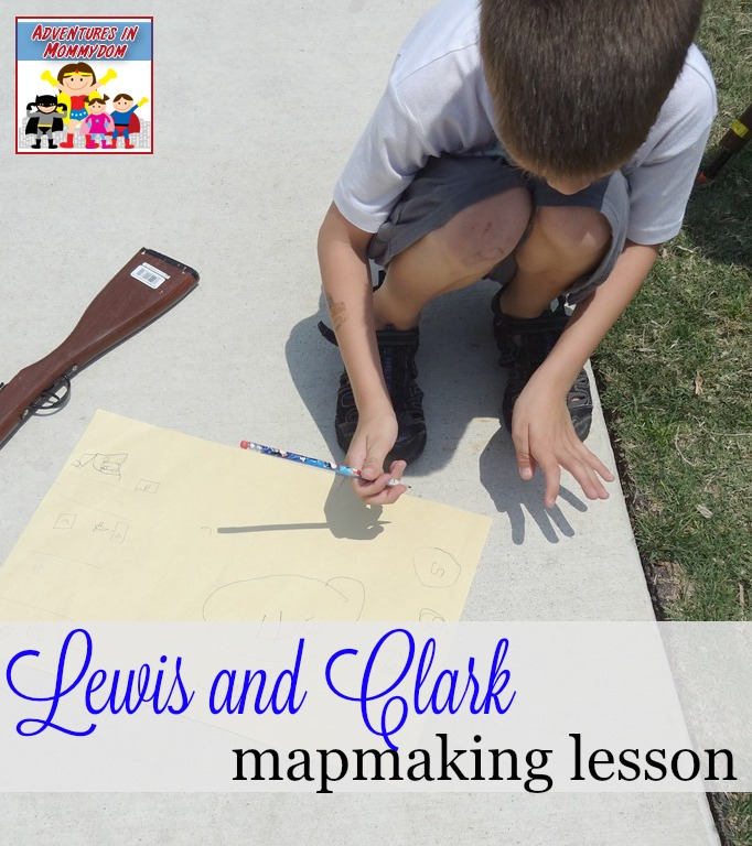 Lewis and Clark mapmaking lesson