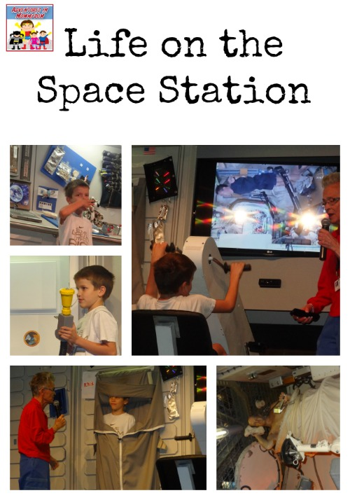 life on the space station