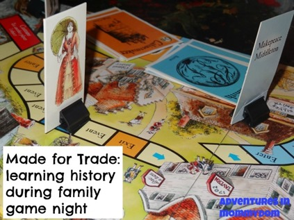 Made for Trade history board game