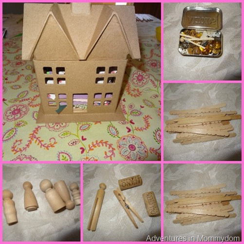Dollhouse kit present for How to make your own dollhouse