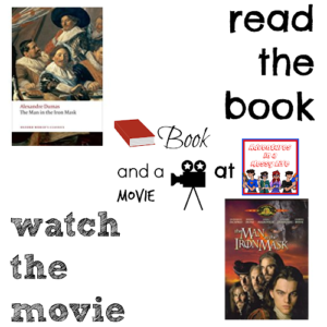 Man in the Iron Mask 10th book and a movie