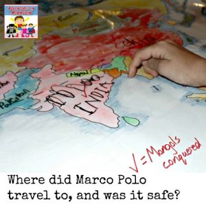 Where did Marco Polo travel to?