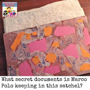 Store your secret trade documents in a satchel like Marco Polo