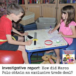 Marco Polo pretend play