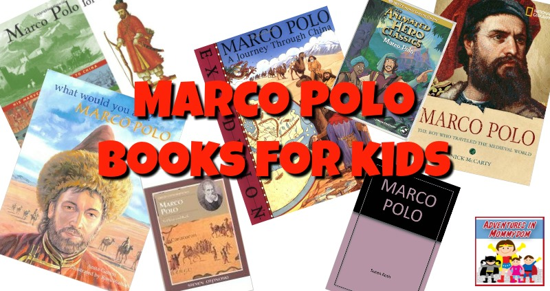 Marco Polo books for kids
