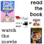 Matilda book and a movie 4th summer 9th