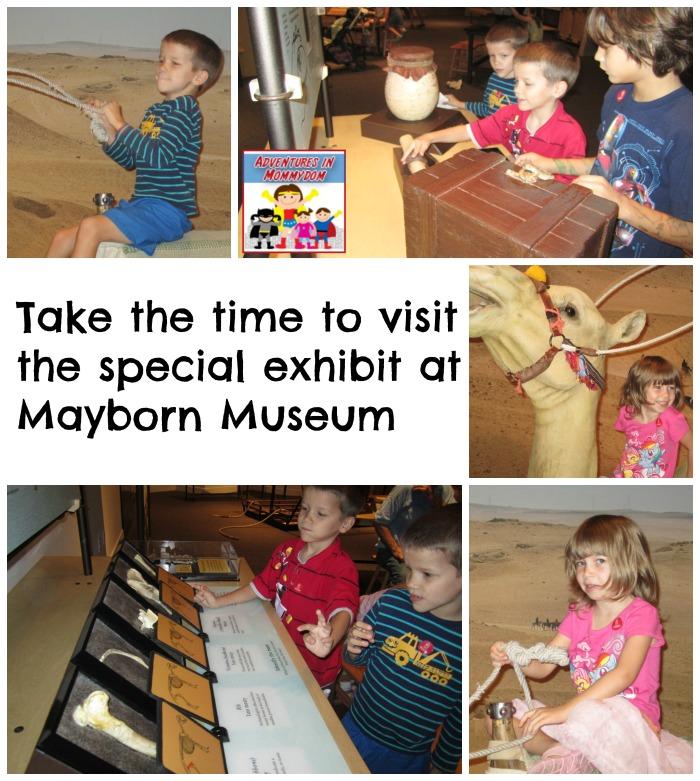 Mayborn museum special exhibit
