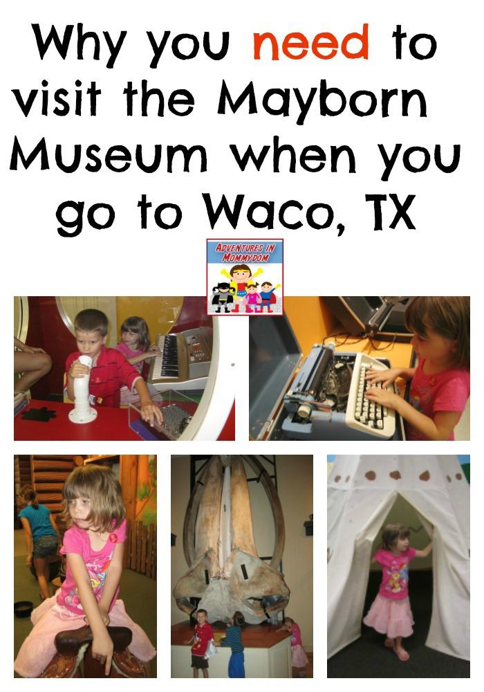 Mayborn Museum Waco TX