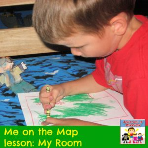 Me on the map lesson mapping my room