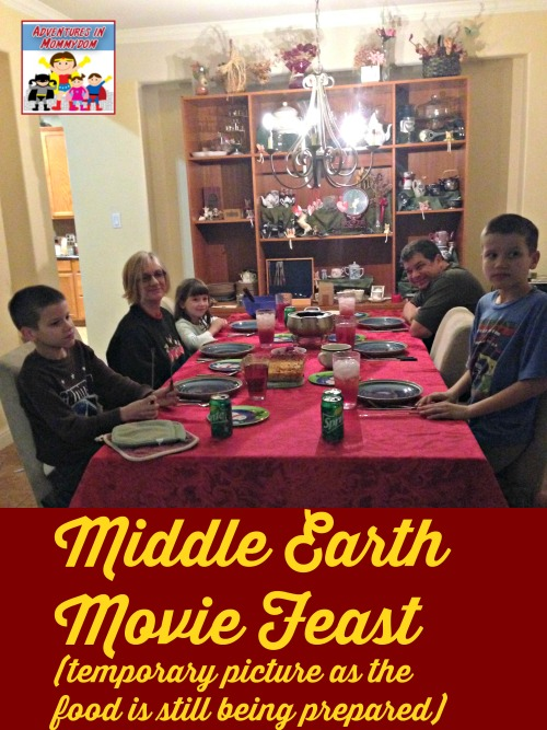 Middle Earth Movie feast
