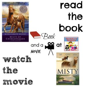 Misty of Chincoteague book and a movie feature