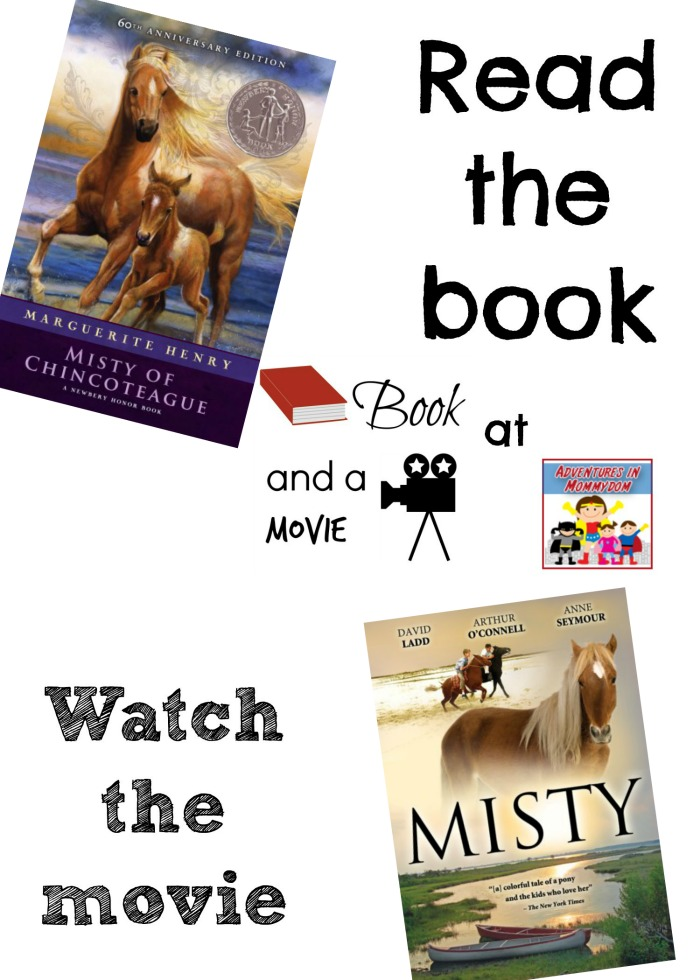 Misty of Chincoteague book and a movie