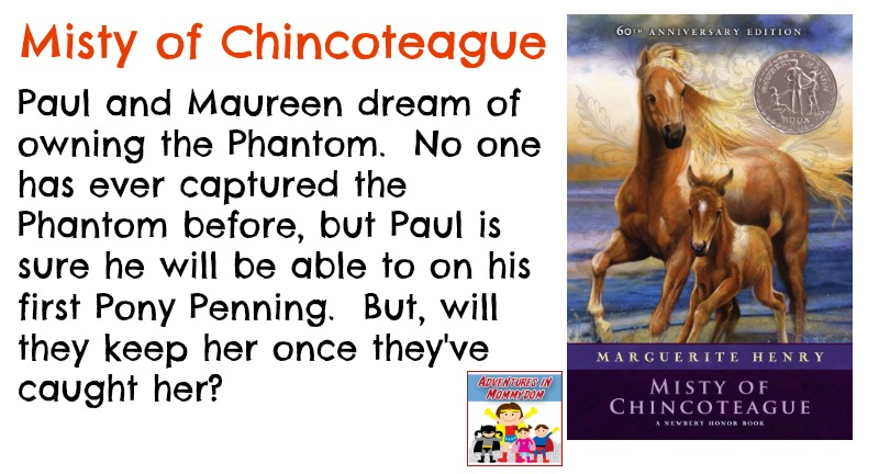 Misty of Chincoteague book synopsis
