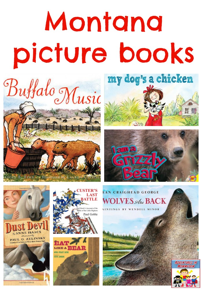 Montana picture books #readyourworld #geographybooks #booklist