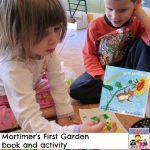 Mortimer's First Garden book and activity
