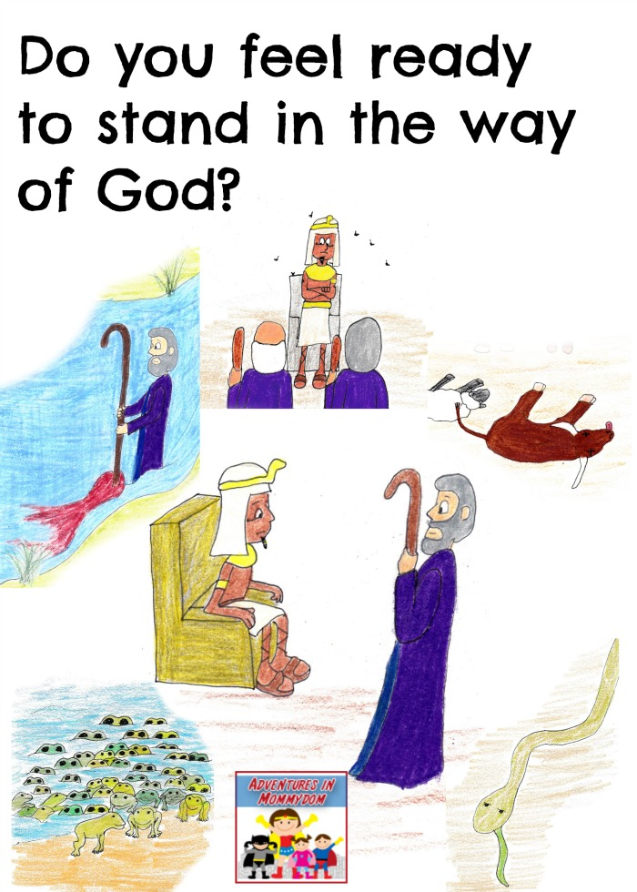 Moses and the 10 plagues can you stop God
