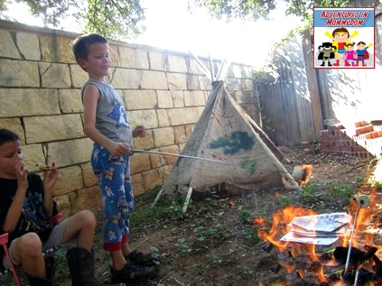 Moses and the burning bush activity studying fire
