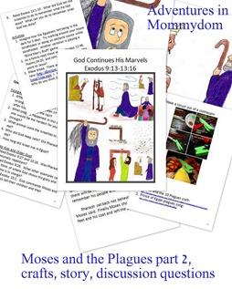 Moses plague 2 storybook