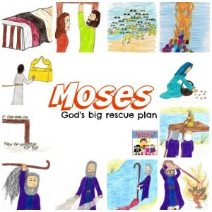 Moses unit for kids