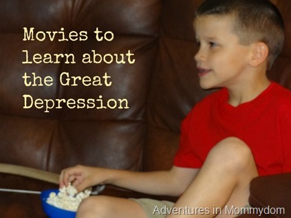 Movies to learn about the Great Depression