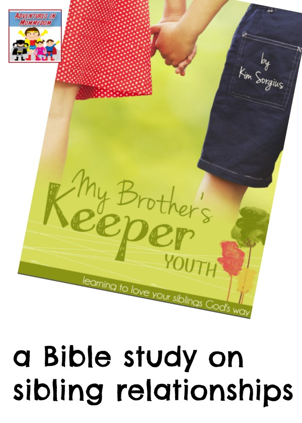 My Brother's Keeper family Bible study
