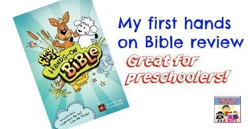 My first hands on Bible review great for preschoolers