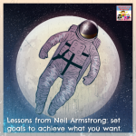 Neil Armstrong lesson goal setting kinder primary