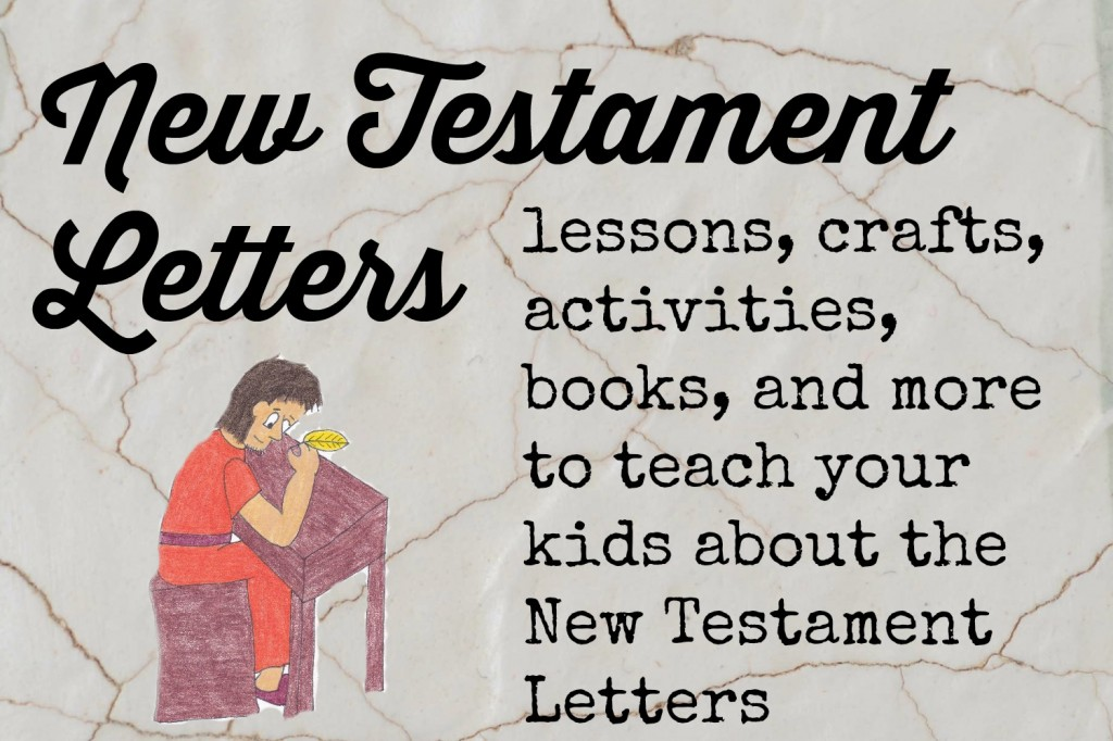 New Testament letters ideas
