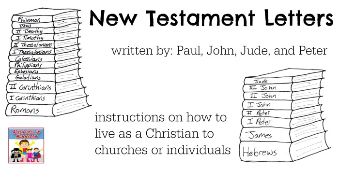 an analysis of new testament letters A summary of the books of the new testament  paul continues his letter  advising the romans about god's righteousness, and the.