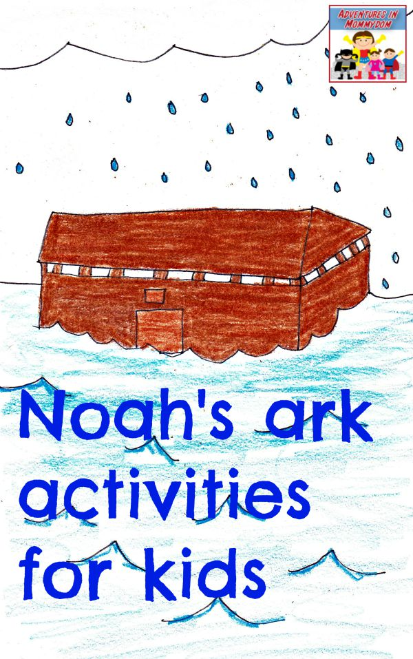 Noah's ark activities for kids